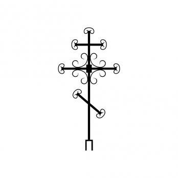Крест металлический №5