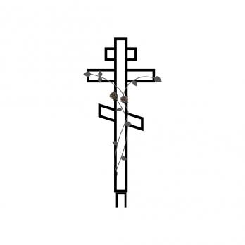 Крест металлический №11