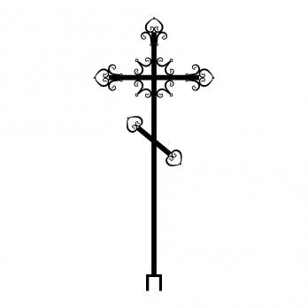 Крест металлический №15