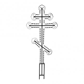 Крест металлический №16