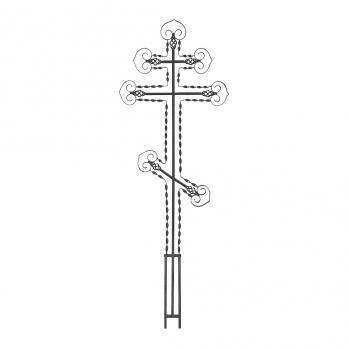 Крест металлический №17