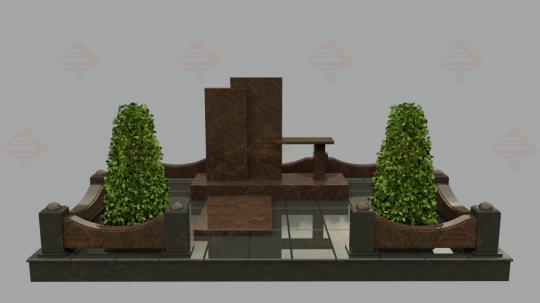 Купить памятник - гранитный комплекс